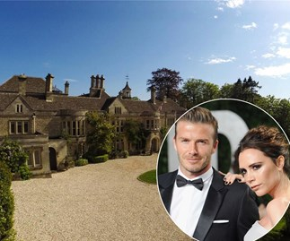 Posh and Becks set their sights on a new Beckingham Palace - check it out!