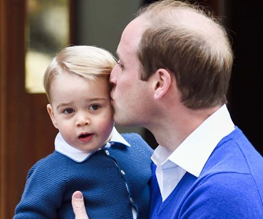 Prince William gushes about 'delightful' George and Charlotte