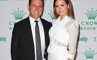 Karl Stefanovic and Jesinta Campbell
