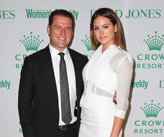 Karl Stefanovic and Jesinta Campbell