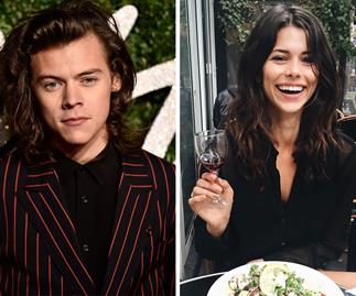 Harry Styles and Georgia Fowler