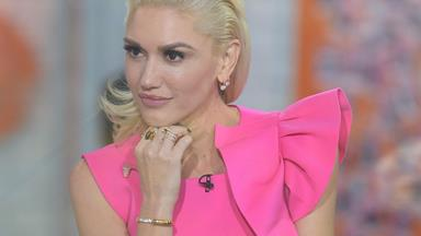 Gwen Stefani gets caught off-guard by a question about her divorce