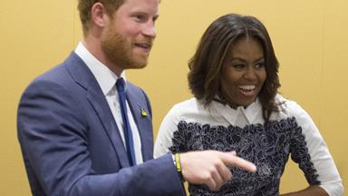 Unlikely friends! Prince Harry and Michelle Obama unite for a good cause