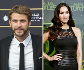 Liam Hemsworth and Megan Fox