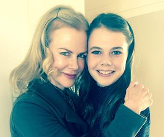Nicole Kidman and Lucia Hawley