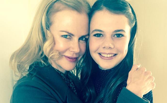 Nicole Kidman and Lucia Hawley
