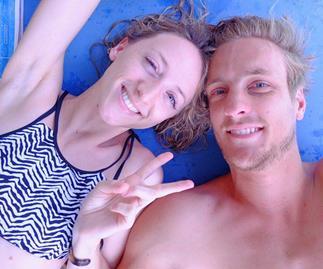 The Block's Simon Vos and Ashley Jones