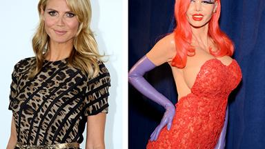 Heidi Klum's incredible Halloween transformation