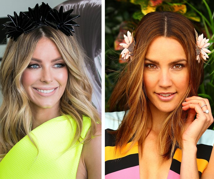 Jennifer Hawkins and Rachael Finch