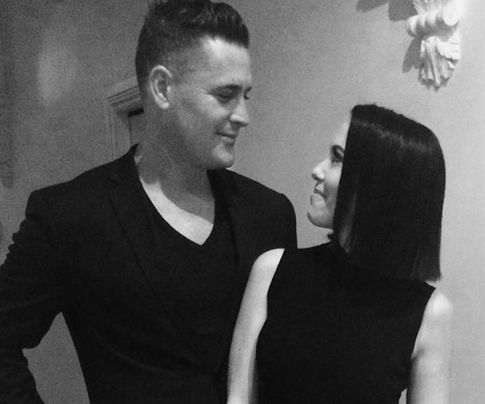 Kym Valentine and Trent Croad