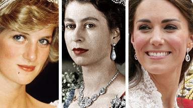 A peek at the royal family's jewellery box
