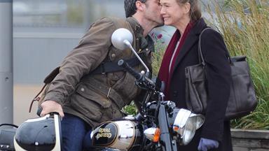 Renee Zellweger and Patrick Dempsey smooch on the new Bridget Jones