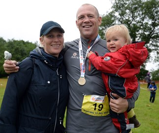 Zara Phillips, Mike Tindall and Mia Tindall