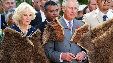 Prince Charles and Camilla's NZ visit in pictures