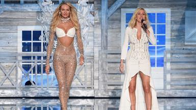 Stars at the Victoria's Secret Fashion Show 2015