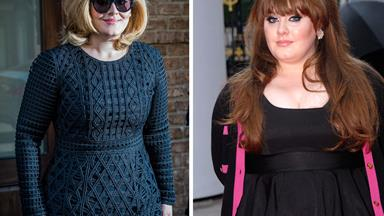 Hello! Adele debuts slimmed-down new figure