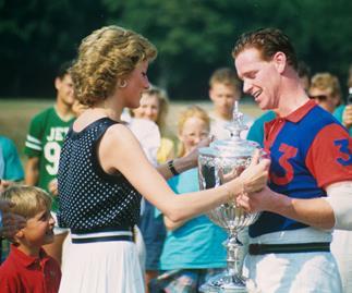 James Hewitt and Princess Diana