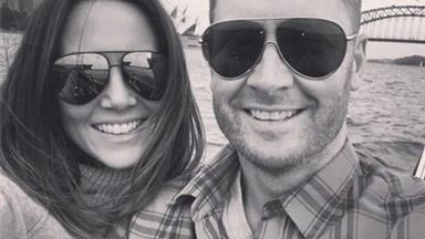 """My angel!"" Michael and Kyly Clarke share the first photo of their daughter"
