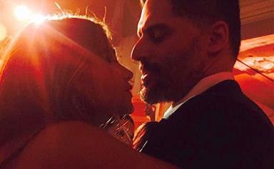 Joe Manganiello serenades Sofia Vergara at their wedding rehearsal