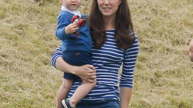 "Like father, like son! Prince George is ""obsessed"" with tractors and trucks"