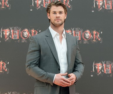 Chris Hemsworth shares shocking photo of slimmed-down physique