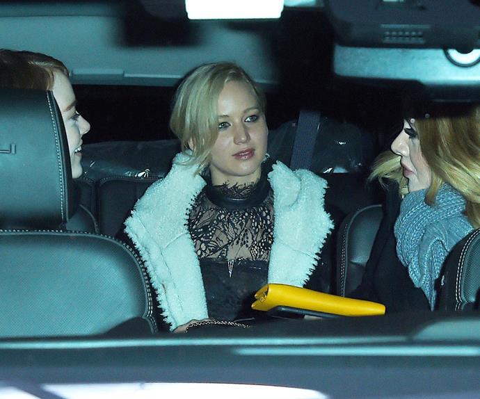 Emma Stone, Adele, Jennifer Lawrence