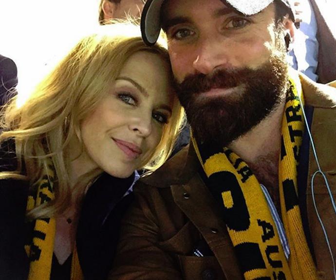 Kylie Minogue Joshua Sasse