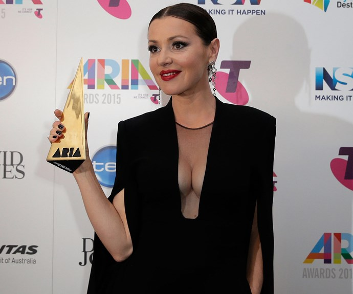 "It is safe to say that the real legend of the 2015 ARIA Awards was none other than Hall of Fame-inductee, Tina Arena. After delivering a powerful rendition of her mega-hit, *Chains* with Jessica Mauboy and The Veronicas, the 50-year-old thanked all the people who supported her four-decade career, before taking a look at ageism in her epic 18 minute speech. ""I want to acknowledge the women in their '40s still in the game in a big way… We will decide when it's time for us to stop."""
