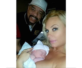 Ice-T and Coco Austin with baby Chanel Nicole