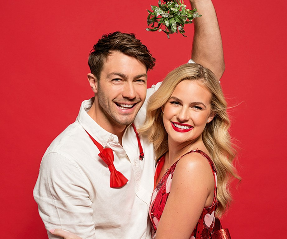 The happy couple have even more to celebrate this Christmas.