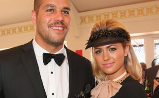 Jesinta Campbell and Lance Buddy Franklin