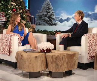 Sofia Vergara on The Ellen Show