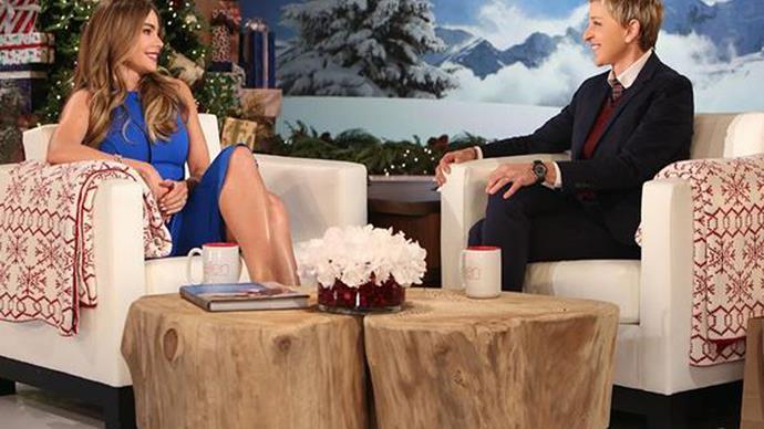 Sofia Vergara on The Ellen Show