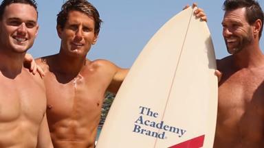 Beach boys! The Bondi Rescue cast's sizzling charity calender