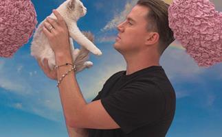 Channing Tatum, cat