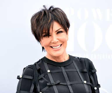 Grateful grandma Kris Jenner spills the beans on Saint West!