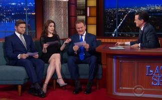 Downton Abbey cast re-enact scenes with American accents