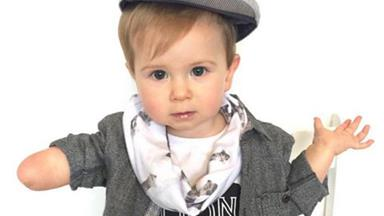 Meet the one-armed toddler shaking up Instagram with his inspiring fashion posts