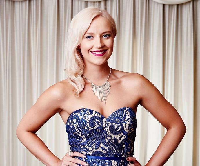 Dani Robinson from The Bachelor NZ season 1