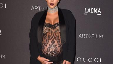 """Kim Kardashian plans to """"eat"""" her placenta"""