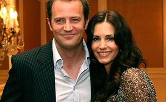 Courteney Cox and Matthew Perry