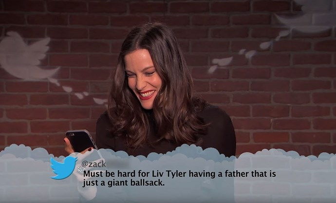 Kirsten Dunst, Liv Tyler, Sean Penn and more read mean tweets