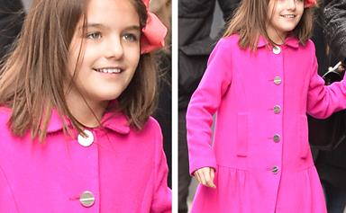 Suri Cruise is all grown up