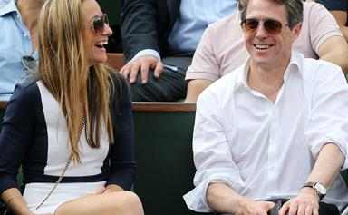 Hugh Grant and Swedish girlfriend Anna Eberstein welcome their second child together
