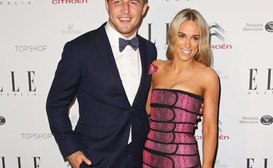 Rabbitohs player Sam Burgess and Phoebe Hooke tie the knot!
