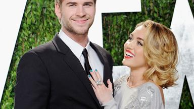 Miley Cyrus and Liam Hemsworth spotted celebrating New Year together