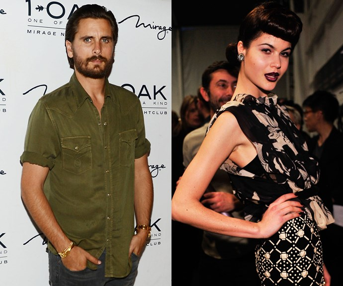 Scott Disick and Linda Sandberg