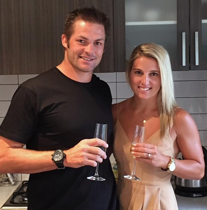 The couple announced their engagement in January 2016. Photo: Facebook