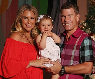 David Warner, Candice Warner, Ivy Mae Warner