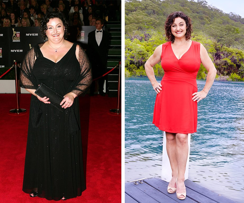 Julie says that she NEVER diets and that her 20kg-plus weightloss was 'accidental'.